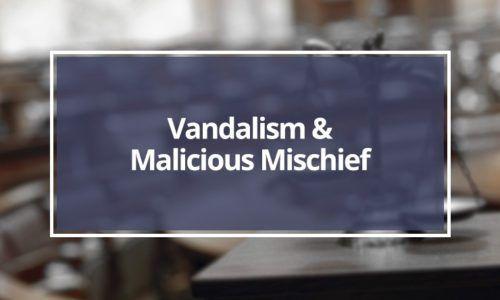 Vandalism-and-Malicious-Mischief